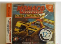 GIOCO MONACO GRAND PRIX RACING SIMULATION 2 SEGA DREAMCAST JAPAN IMPORT NTSC-J
