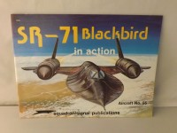 SQUADRON/SIGNAL PUBLICATIONS 1055 SR-71 BLACKBIRD IN ACTION AIRCRAFT 55