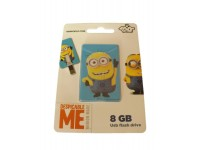 MINIONS ICONIC CARD 8 GB USB FLASH DRIVE 2.0 MEMORY STICK IN A MINION TRIBE
