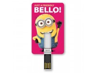 MINIONS ICONIC CARD 8 GB USB FLASH DRIVE 2.0 MEMORY STICK FRIENDLY TRIBE