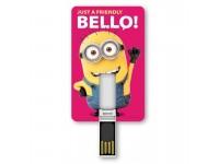 TRIBE MINIONS BELLO CHIAVETTA USB 8 GB FLASH DRIVE 2.0 MEMORY CARD COMPATTA