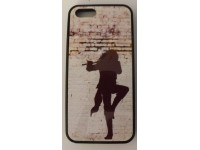 COVER PER IPHONE 5 5S CUSTODIA APPLE IN GOMMA GRAFICA UNICA MUSICA