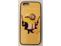 COVER PER IPHONE 5 5S CUSTODIA IN GOMMA APPLE GRAFICA UNICA MINION 007