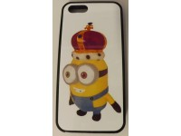 COVER PER IPHONE 5 5S CUSTODIA APPLE IN GOMMA GRAFICA UNICA RE MINION
