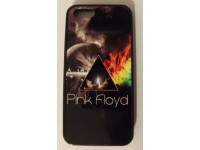 COVER PER IPHONE 5 5S CUSTODIA APPLE IN GOMMA GRAFICA UNICA PINK FLOYD