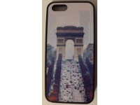 COVER PER IPHONE 5 5S CUSTODIA APPLE IN GOMMA GRAFICA UNICA PARIGI