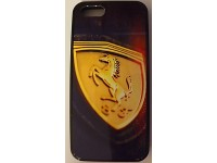 COVER PER IPHONE 5 5S CUSTODIA APPLE IN GOMMA GRAFICA UNICA FERRARI F1
