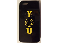 COVER PER IPHONE 5 5S CUSTODIA APPLE IN GOMMA GRAFICA YOU SMILE