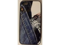 COVER PER IPHONE 5 5S CUSTODIA APPLE IN GOMMA GRAFICA UNICA COCA COLA