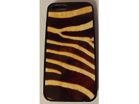 COVER PER IPHONE 5 5S CUSTODIA APPLE IN GOMMA GRAFICA UNICA TIGRE