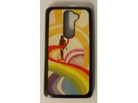 COVER PER LG G2 CUSTODIA IN PLASTICA RIGIDA GRAFICA UNICA FANTASIA