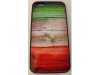 COVER PER IPHONE 6 PLUS CUSTODIA APPLE IN GOMMA GRAFICA UNICA ITALIA BANDIERA