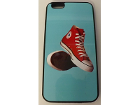 COVER PER IPHONE 6 PLUS CUSTODIA APPLE IN GOMMA GRAFICA UNICA CONVERSE SCARPE