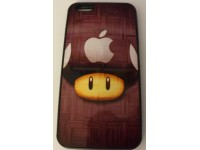 COVER PER IPHONE 6 PLUS CUSTODIA APPLE IN GOMMA GRAFICA UNICA FUNGO NINTENDO