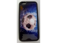 COVER PER IPHONE 6 / 6S CUSTODIA APPLE IN GOMMA GRAFICA UNICA CALCIO FOOTBALL