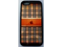 COVER PER IPHONE 6 / 6S CUSTODIA APPLE IN GOMMA GRAFICA UNICA FINTO TESSUTO