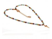 COLLANA CESARE PACIOTTI JEWELS BOYS & GIRLS BGCL0011 IN ARGENTO 925 MULTICOLOR