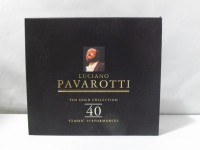 LUCIANO PAVAROTTI THE GOLD COLLECTION 40 BOX 2 CD MUSICA LIRICA