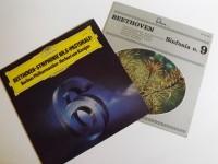 BEETHOVEN SYNPHONIE NR. 6 E 9 IN 2 VINILI DA 33 GIRI MUSICA CLASSICA