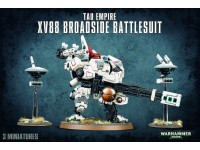WARHAMMER 40000 TAU EMPIRE XV88 BROADSIDE BATTLESUIT GAMES WORKSHOP 3 miniatures
