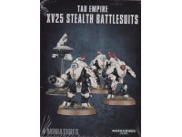WARHAMMER 40000 TAU EMPIRE XV25 STEALTH BATTLESUIT GAMES WORKSHOP 4 miniatures