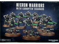 WARHAMMER 40000 NECRON WARRIORS WITH CANOPTEK SCARABS GAMES WORKSHOP 15 MINIATURES