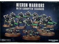 WARHAMMER 40000 NECRON WARRIORS WITH CANOPTEK SCARABS GAMES WORKSHOP 15 MINIATURES
