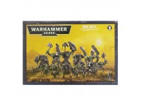 WARHAMMER 40000 ORK BOYZ ORCHI GAMES WORKSHOP 11 MINIATURES