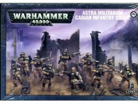WARHAMMER 40000 ASTRA MILITARUM CADIAN INFANTRY SQUAD GAMES WORKSHOP 10 MINIATURES