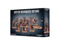 WARHAMMER 40K ADEPTUS MECHANICUS SKITARII GAMES WORKSHOP 10 MINIATURES