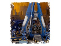 WARHAMMER 40000 SPACE MARINE CAPSULA DI ATTERRAGGIO DROP POD GAMES WORKSHOP