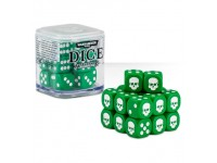 SET DI 20 DADI COLORATI VERDI NEL CUBO CLASSICI Warhammer 40000 GAMES WORKSHOP Age of Sigma