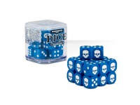 SET DI 20 DADI COLORATI BLU NEL CUBO CLASSICI Warhammer 40000 GAMES WORKSHOP Age of Sigma