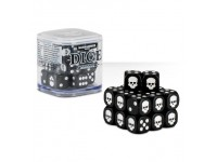 SET DI 20 DADI COLORATI NERI NEL CUBO CLASSICI Warhammer 40000 GAMES WORKSHOP Age of Sigma