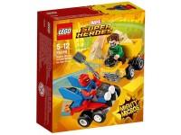 LEGO SUPRE HEROES 76089 - MIGHTY MICROS: SPIDER MAN CONTRO UOMO SABBIA
