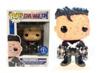 FUNKO POP CIVIL WAR CAPTAIN AMERICA CROSSBONES UNMAKED FIGURA 9 cm BOBBLE HEAD