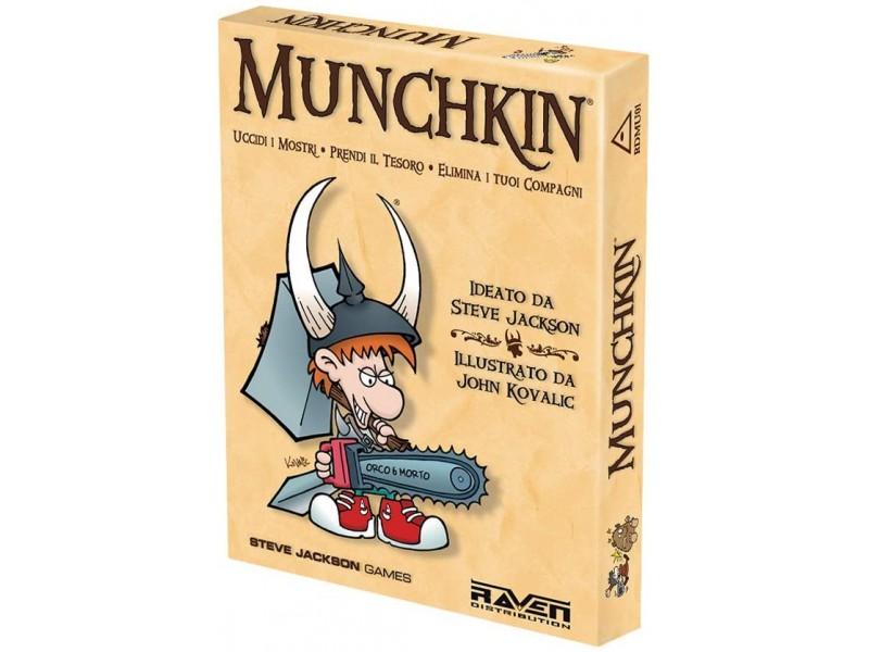 MUNCHKIN - ED. ITALIANA RAVEN GIOCHI DA TAVOLO