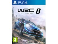 WRC 8 THE OFFICIAL GAME GUIDA RALLY - PLAYSTATION 4
