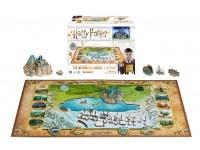 HARRY POTTER - THE WIZARDING WORLD - HOGWARTS 4D PUZZLE 800 PEZZI
