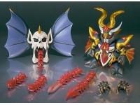 Bandai Chogokin Sdx Neo Black Dragon Action Figura Gundam