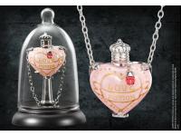 Harry Potter Ciondolo Filtro D'amore Con Espositore Noble Collection