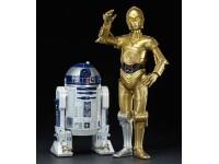 Star Wars C-3po + R2-d2 Droidi Artfx Pacco Con 2 Figura 1/10 Kotobukiya