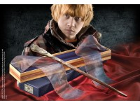 Harry Potter Bacchetta Magica Ron Weasley Olivander Noble Collection