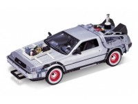 Welly WE22444 DE LOREAN RITORNO AL FUTURO 3 1:24 Modellino
