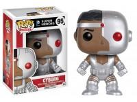 Funko Super Heroes POP DC Comics Vinile Figura Cyborg 9 cm