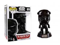 Funko Star Wars POP Movies Vinile Figura Tie Fighter Pilot 9 cm Esclusiva