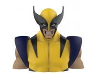 X-men Marvel Salvadanaio Bustoo Wolverine Deluxe 20 Cm Semic