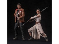 Star Wars Ep. Vii The Force Awakens Rey & Finn Artfx 2 Statua 1:10 Kotobukiya