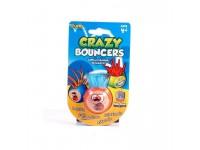 Palla Crazy Bouncer Capelli Flessibili ed Elastici Rosso Azzurro [Giocattolo]