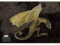Statua Drago Rhaegal Targaryen Games of Thrones Noble Collection